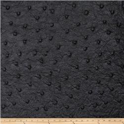 Fabricut Tellurium Faux Leather Onyx