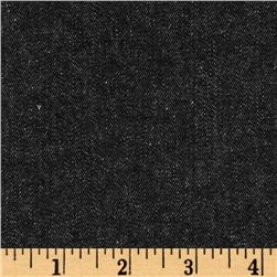 Kaufman Denim 8 oz. Black Washed Fabric