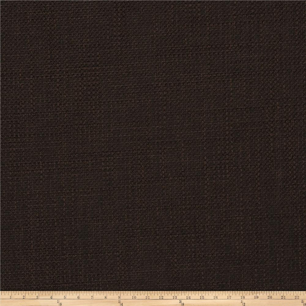 Fabricut Tempest Basketweave Chocolate