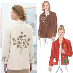 Kwik Sew Applique Jackets Pattern