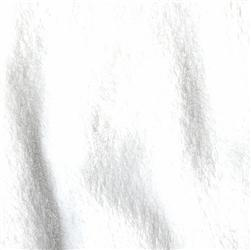 Double-Sided Minky Fleece White
