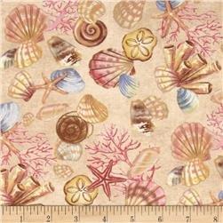 Neptune's Garden Shells & Coral Brown