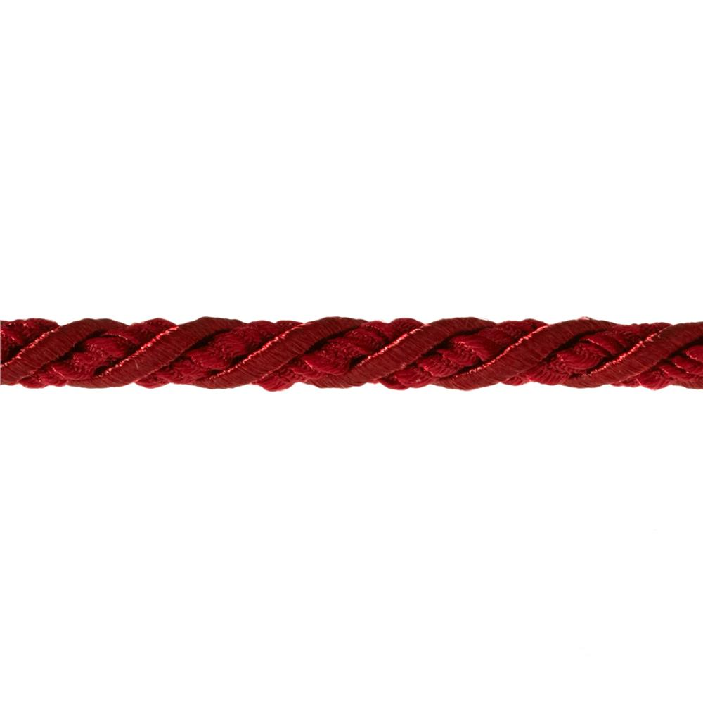 "Sylvia 1/4"" Decorative Cord Trim Berry"