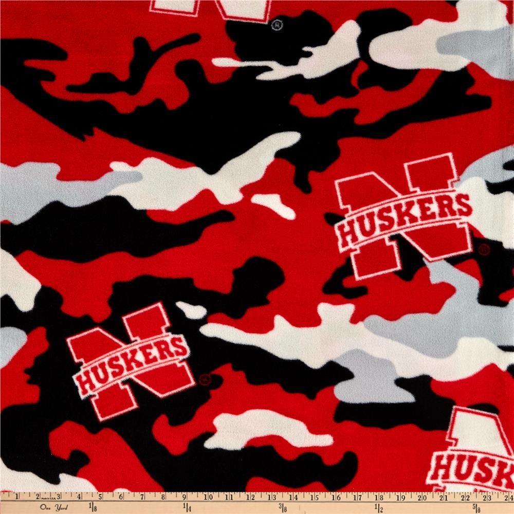 Nebraska Fleece Camo