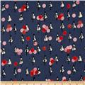 Cotton + Steel Jubilee Balloons Blue