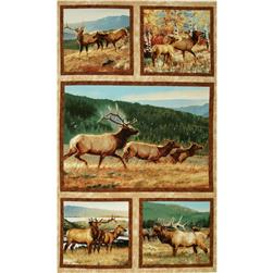 "Breaking Light 24"" Elk Panel Multi"