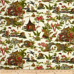 Botanica III The Scarlet Story Toile Cream