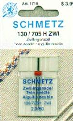 Schmetz Twin Machine Needle 2/80