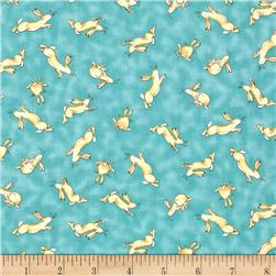 Guess How Much I Love You Tossed Bunny Light Teal