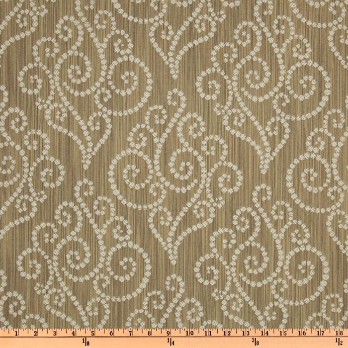 Waverly Synergy Jacquard Sienna
