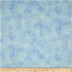 Holiday Accents Classics 2013 Metallic Large Snowflake Blue