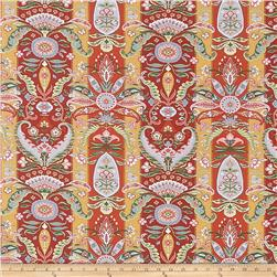 Fabricut Blackwell Red
