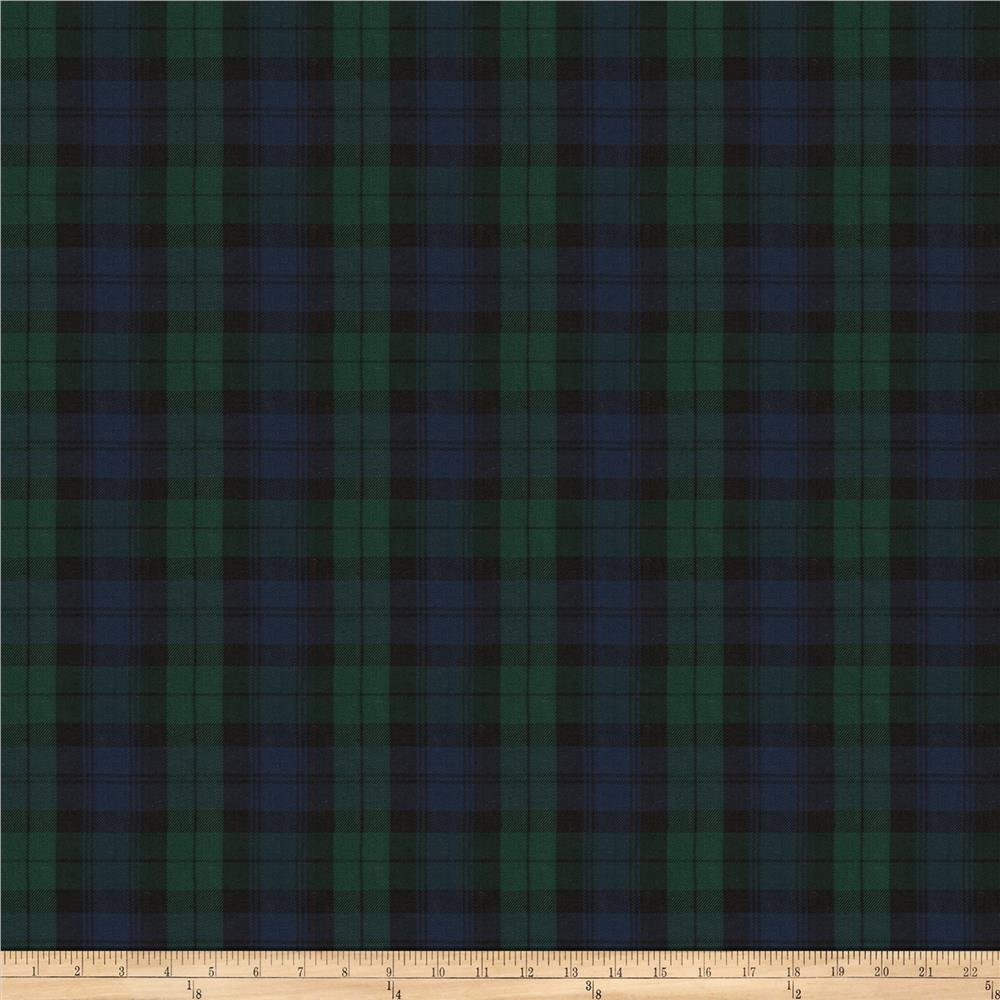 Fabricut Scot Plaid Twill Blackwatch