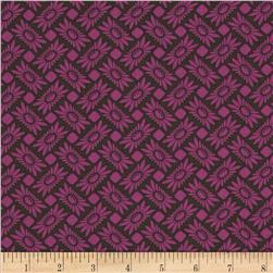 Heather Bailey True Colors Picnic Daisy Orchid Fabric
