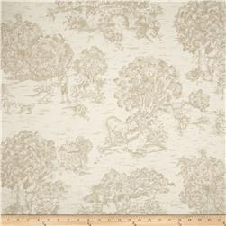 Magnolia Home Fashions Quaker Toile Sand Fabric
