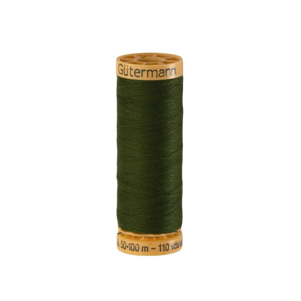 Gutermann Natural Cotton Thread 100m/109yds Dark Spruce