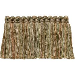 Fabricut Bangle Brush Fringe Oxidized
