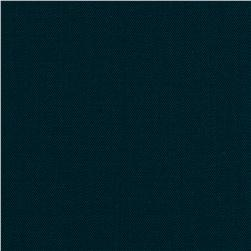 Worsted Wool Suiting Twill Deep Navy