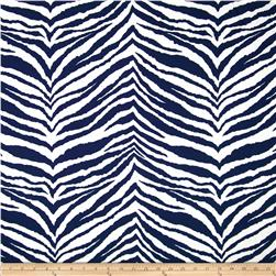 Zebra Indoor/Outdoor Navy/White