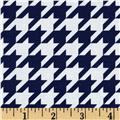 Riley Blake Medium Houndstooth Navy
