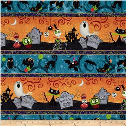 Halloween Repeating Stripe Multi