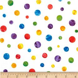 The Very Hungry Caterpillar Dots Small Scattered Dots White