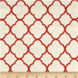 P Kaufmann Poem Jacquard Ladybug Red Fabric