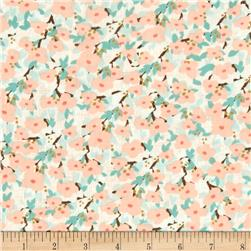 Moda Lullaby Bloom Peach/Cloud