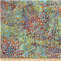 Michael Miller Batik Scatter Square Mermaid
