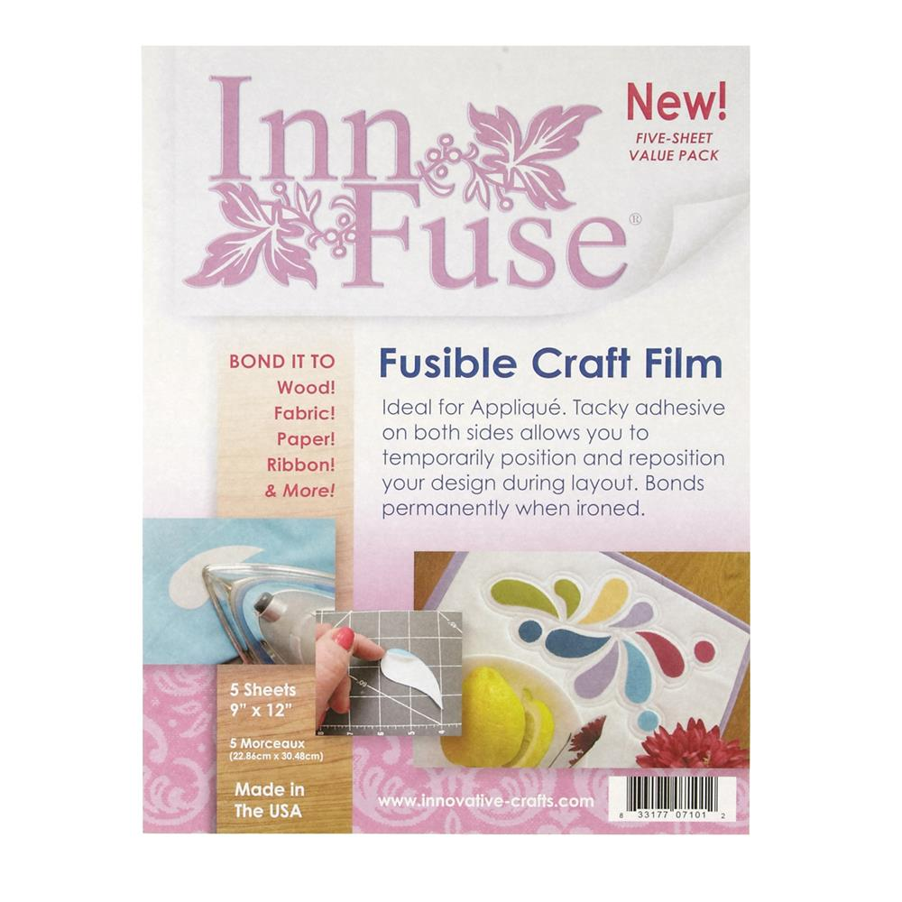 "Innovative Crafts Inn Fuse Value Pack (5) - 9"" x 12"" Sheets"
