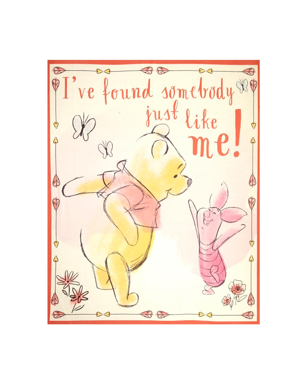 Disney Pooh Everyday Pooh Found Somebody 36 In. Panel Multi