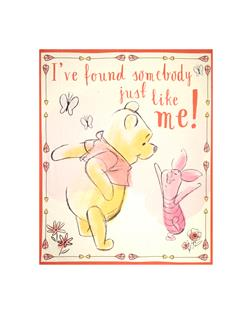 Disney Pooh Everyday Pooh Found Somebody Panel Multi
