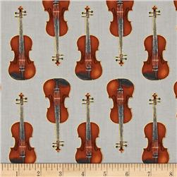 Kaufman In Tune Metallic Violins Silver