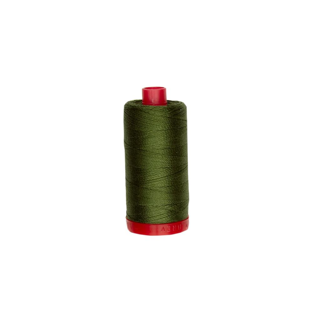 Aurifil 12wt Embellishment and Sashiko Dreams Thread Medium Green