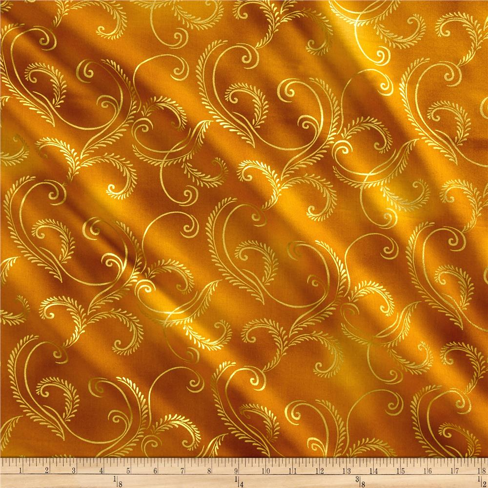 Kanvas Autumn Splendor Metallic Gold Garland Gold
