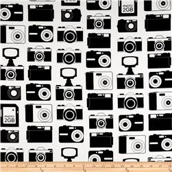 Boys Toys Cameras White/Black