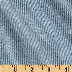 10 Wale Polyester Corduroy Chambray