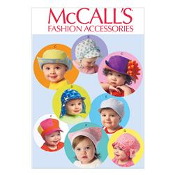 McCall's Infants' Hats Pattern M6976 Size OSZ