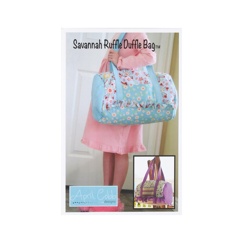 COMBINE April Cobb Savannah Ruffle Duffle Pattern
