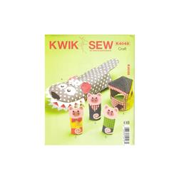Kwik Sew Finger and Hand Puppets and House Pattern