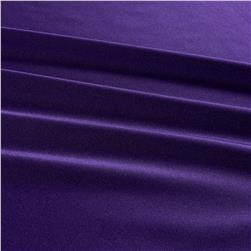 Activewear Spandex Knit Solid Purple