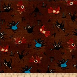 Trading Post Native Birds Brown
