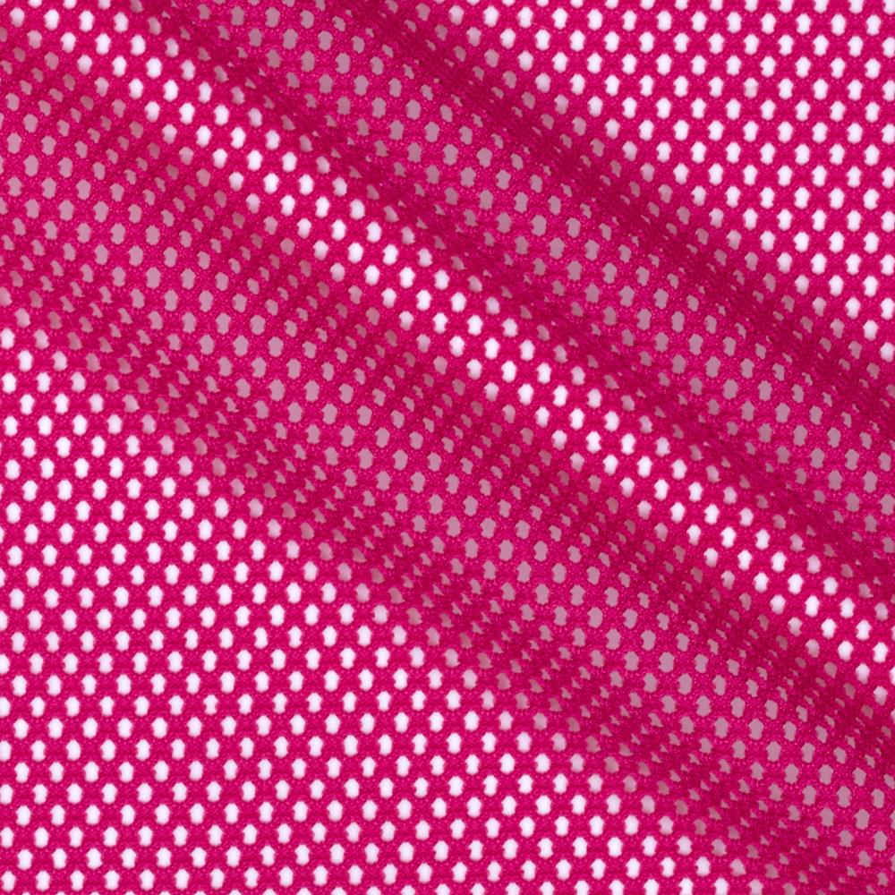 Telio mod stretch mesh fuchsia discount designer fabric for Fabric cloth material