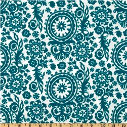 Premier Prints Indoor/Outdoor Royal Suzani Blue Moon