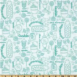 Gumdrops & Lollipops Sweetshoppe Toile Green