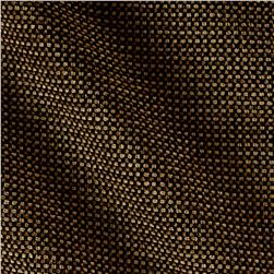 Upholstery Chenille Basket Weave Brown