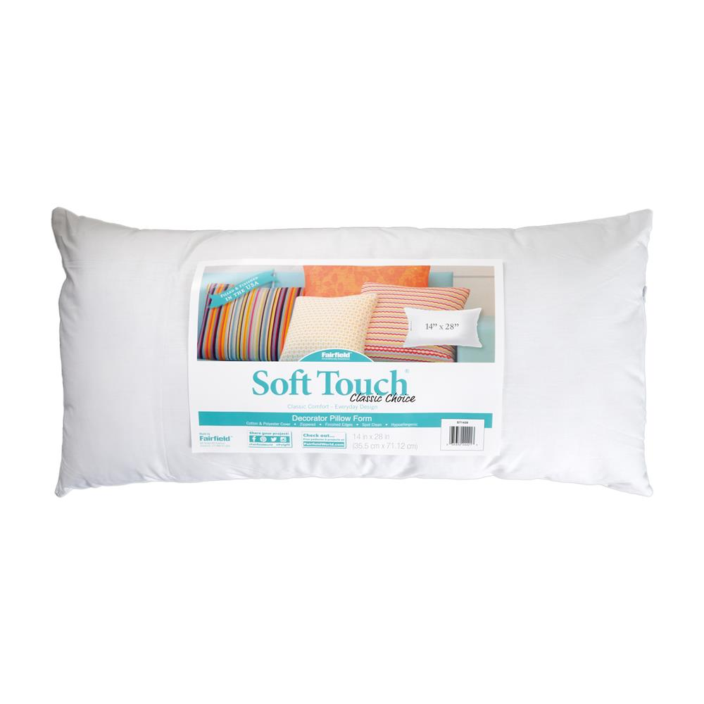 "Fairfield Soft Touch Supreme Poly-Fil Pillow 14"" x 28"""
