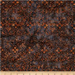 Timeless Treasures Tonga Batiks Lace Veil Malachite