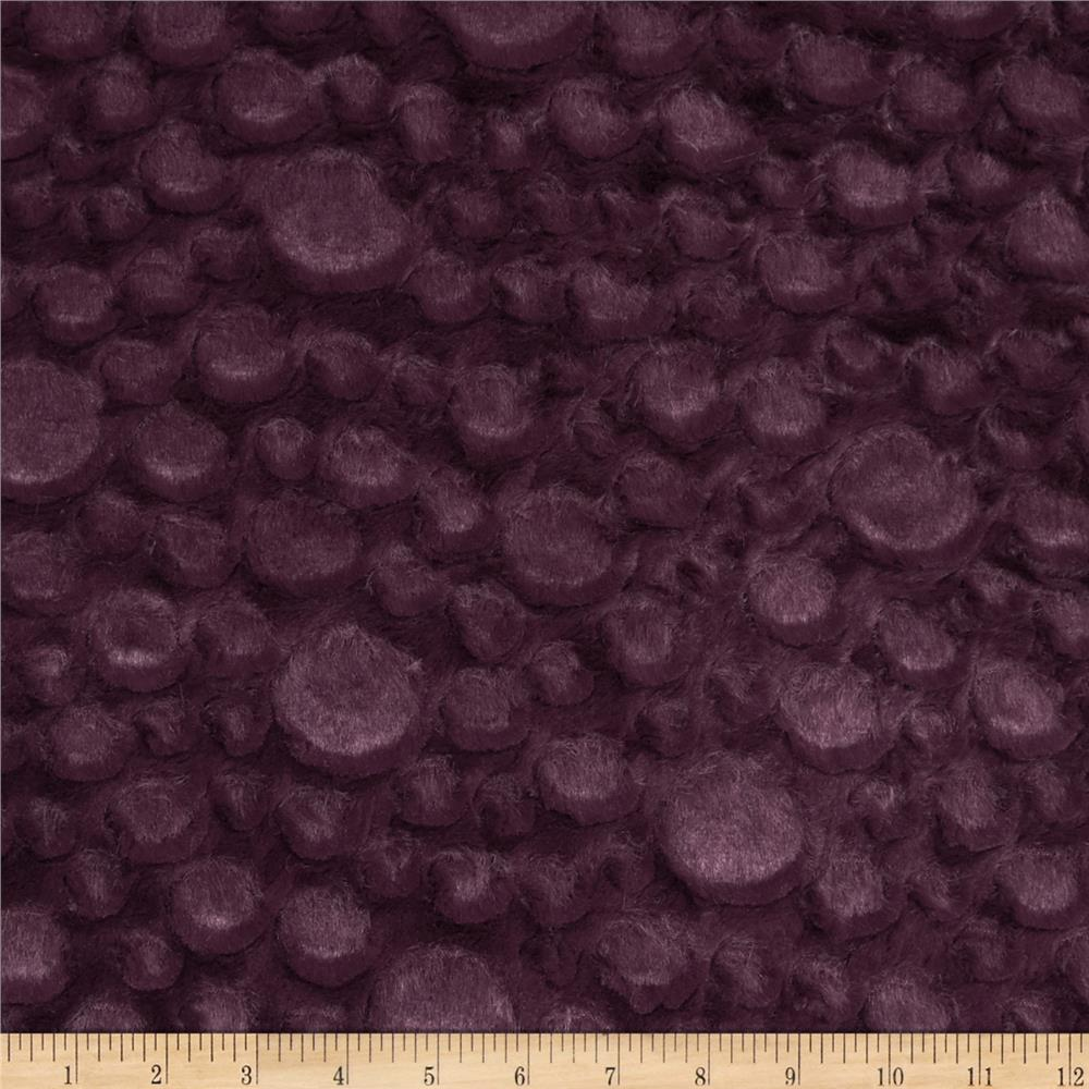 Minky Soft Stone Cuddle Plum