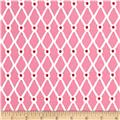 Moda Beach House Fishnet Pink